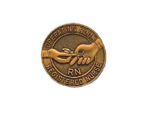 RN Operating Room Nurse Lapel Pin Graduation Professional Emblem 5052 New image 2