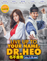 Korean Drama DVD Live Up To Your Name, Dr Heo (Vol.1-16 End) *English Su... - $35.90