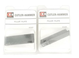 LOT OF 2 NEW CUTLER HAMMER CHFP FILLER PLATES