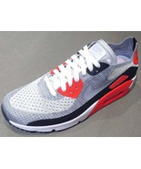 Nike Air Max 90 Ultra 2.0 Flyknit  875943-100 Mens  Shoes Sneakers Trainers - $168.00