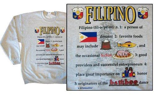 Philippines national definition sweatshirt 10267