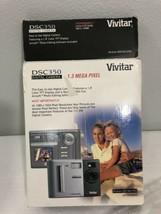 Vivitar Dsc 350 Digital Camera 2X Digital Zoom 1.3 Mp - $34.65