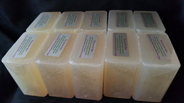 10 lb LOW SWEAT CLEAR Melt and Pour Soap Base 100% All Natural Bulk Wholesale - $43.95