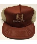 Vtg Hesston Trucker Hat Fiatagri Made In The USA Cap Farming Agriculture... - $42.07