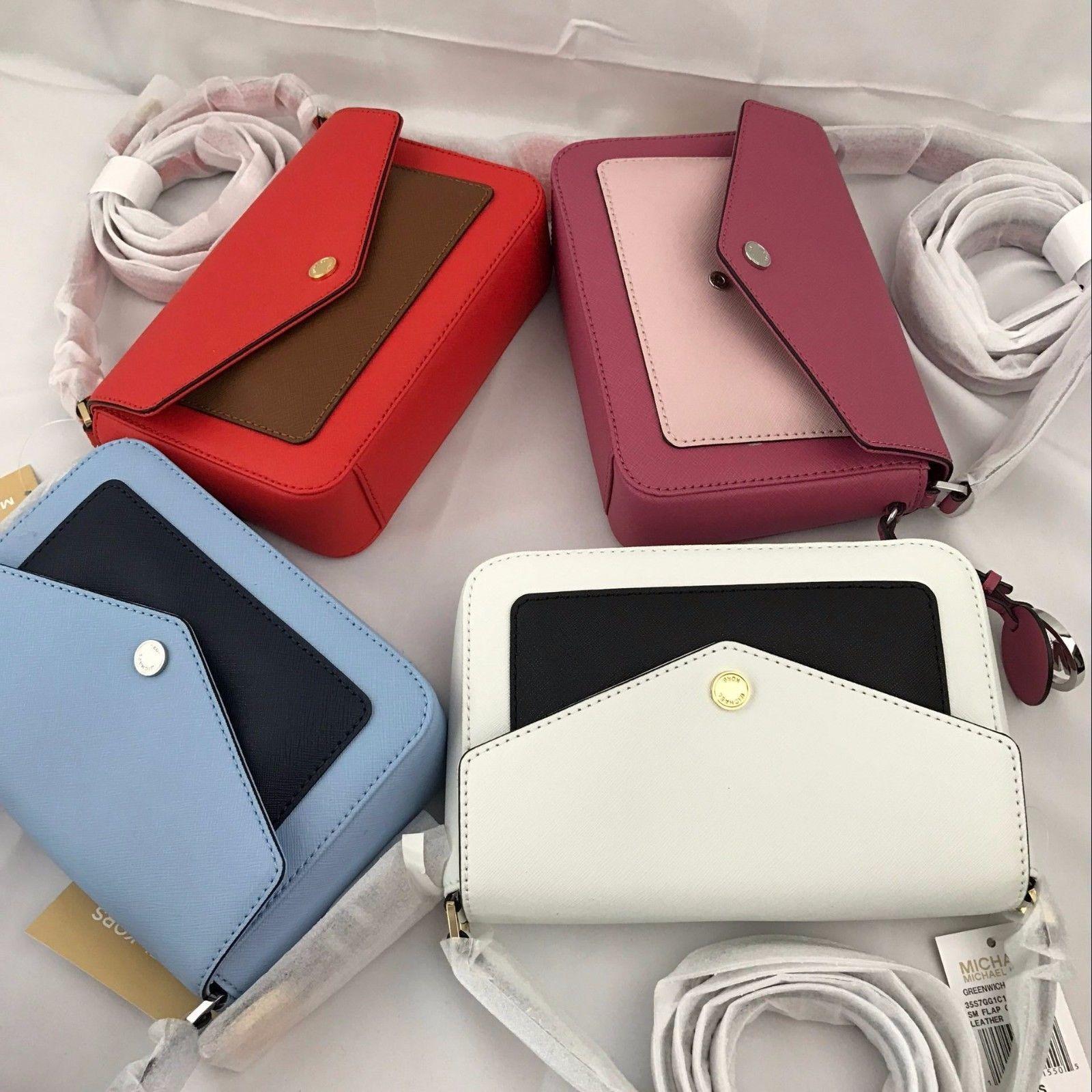 1f1fc696b13195 Nwt 2017 Michael Kors Greenwich Color Pocket and 50 similar items. S l1600