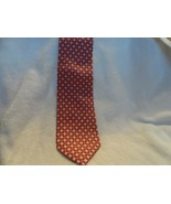 Vera Bradley for Baekgaard pink and brown neck tie - 100% silk - $16.50