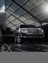 2013 Lexus LX 570 brochure catalog 2nd Edition 13 US Land Cruiser - $9.00