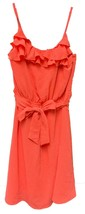 Popatu Girl's Spaghetti Strap Summer Dress Coral - $20.99