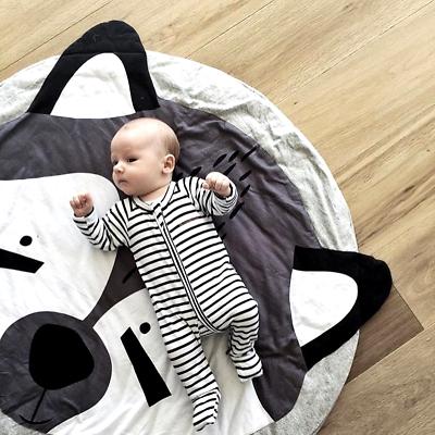Baby Cushion Koala Bear Pure Cotton Baby Game Mat Tiny Tots Room Decor