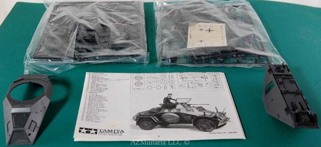 1/35 Sd.kfz 222 Leichter Panzerspahwagen(4X4) Kit No MM151 Series No. 51
