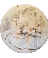 Mikasa Holiday Elegance Fine Porcelain 3 Dimensional Christmas Caroler P... - $19.99