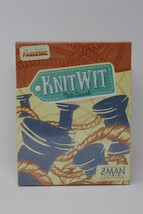 Knit Wit Board Game Loops Spools Face-Paced Humorous Crafty Intellect SEALED - $18.99