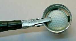 Golf Ball Retriever Telescoping Pole 12 Foot Reach 4 Sections Good Worki... - $11.87