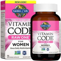 Garden of Life Multivitamin for Women - Vitamin Code 50 & Wiser Women's Raw Food - $38.11