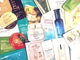 160-Piece Korean Sample Beauty Box It's Skin Ohui Primera Re:NK Secret Key +More - $154.00