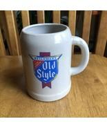 Heileman Old Style Ceramic Beer Mug Stein Sheild Logo Rare Vintage - $11.88