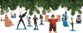 Wreck It Ralph Breaks The Internet Deluxe Holiday Ornament Decoration Set Of 10 - $56.70