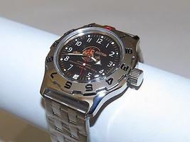 Vostok Amphibian. Russian Military Men`s Auto Watch. Amphibia 100380 Scuba Dude - $53.88