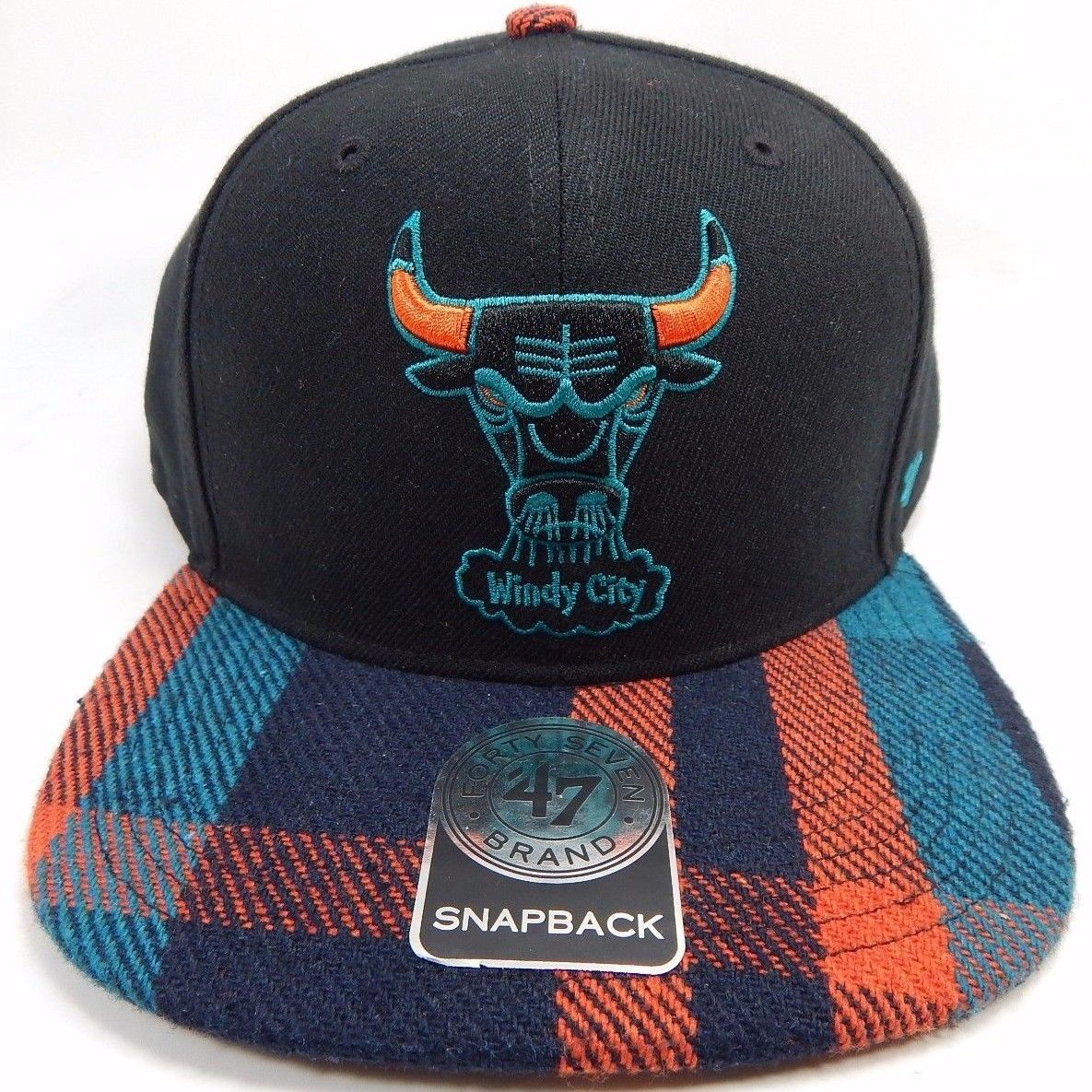 72f16f80513 57. 57. Previous. Chicago Bulls Windy City 47 Brand Official NBA Flannel  Brim Snapback Cap Hat · Chicago Bulls ...