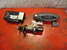 99 saab 9-5 TWICE control module 5262761 & ignition switch w key - $257.39