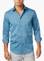 Alfani Men's Plaid Shirt, Mallard, Size XXL, MSRP $55 - $22.76