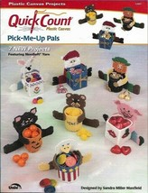 Pick Me Up Pals in Plastic Canvas Quick Count 53007 7 Projects Uniek  - $4.99