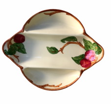 "Vintage Franciscan Apple 12"" Divided Dish Relish Serving Tray Made Calif... - $18.46"