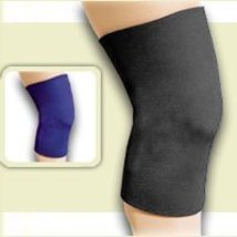 FLA Safe-T-Sport Neoprene Knee Sleeve Closed, Navy, Small - $18.78