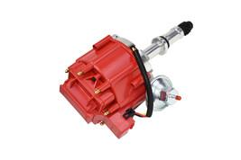 Big Block Buick HEI Distributor Red Cap 400 430 455 65K VOLT COIL image 2
