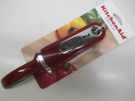 FREE S&H — KITCHENAID — EMPIRE RED / BURGANDY — EURO PEELER —  VEGETABLE... - $11.87