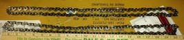 """9FF17 Saw Chains, Oregon, About 40"""" Long, Two Loops, Good Condition - $9.89"""