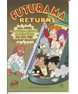 SDCC 2008 Bongo Comics Futurama Returns Ashcan VF/NM - $24.95