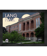 "University of Northern Iowa ""Lang Hall"" 13 x 16 Art Deco Framed Print  - $39.95"