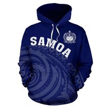 Unisex Samoa Polynesian Tatau Style 3D Hoodie All Over Print - $49.99