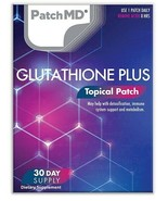 New Formula! PatchMD Glutathione Plus Topical Vitamin Patch 30 Day Suppl... - $14.99