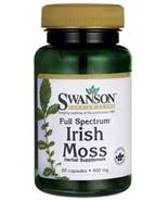 Swanson Full Spectrum Irish Moss 400 Milligrams 60 Capsules - $16.36