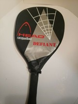 """HEAD Defiant Oversize Racquetball Racket with Cover 3 3/4"""" Grip  - $14.01"""