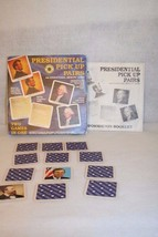 Smithsonian Presidential Pickup Pairs Educational Game Replacement cards... - $74.95