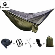 Camping Hammock,FOME SPORTS|OUTDOORS Updated Version Large Size Portable... - $35.45