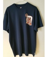 Majestic MLB Detroit Tigers Batting Cool Base Blue mens XL Shirt - $16.43