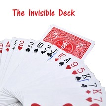 The Invisible Bicycle Deck Amazing Magic Cards Close Up Street Magic Tri... - $27.00