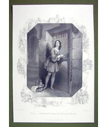 PRUSSIA Prisoner of Spandau Young Maiden - SUPERB Quality Print Engraving - $16.20