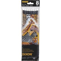 Dixon Non-Toxic, Latex-Free Eraser Wood Pencil (14008) - $8.90
