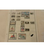 Lot of 9 Mali Stamps, Animals, Bicycle, Olympics & More - $7.43