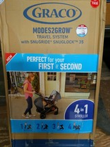 Graco Modes2Grow Travel System W/ Snugride Snuglock 35 - Lotte Fashion FAST SHIP - $215.00