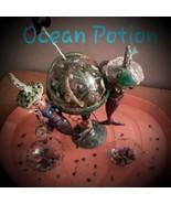 Seasonal Decor Party Mermaids Halloween Tray Ocean Potion - $35.00