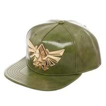 The Legend Of Zelda Green PU Leather Snapback Baseball Cap - $29.95