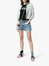 New MIU MIU Size 9 Metallic Pink Lace Up Ballerina Flats 39 1/2 Prada - $468.00