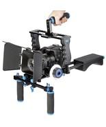 Shoulder Mount Rig Dslr Video Support Camera Cage Movie Pad Stabilizer S... - $243.10