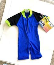 Radicool Kids Swimwear Skins Swim Bodysuit Boys Sz 1 (12m) Wetsuit Spf 1... - $13.09